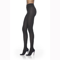 Sigvaris 841M Soft Opaque Maternity Pantyhose For Women-Black