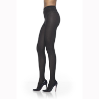 SIGVARIS 841P 15-20 mmHg Soft Opaque Pantyhose-Open Toe